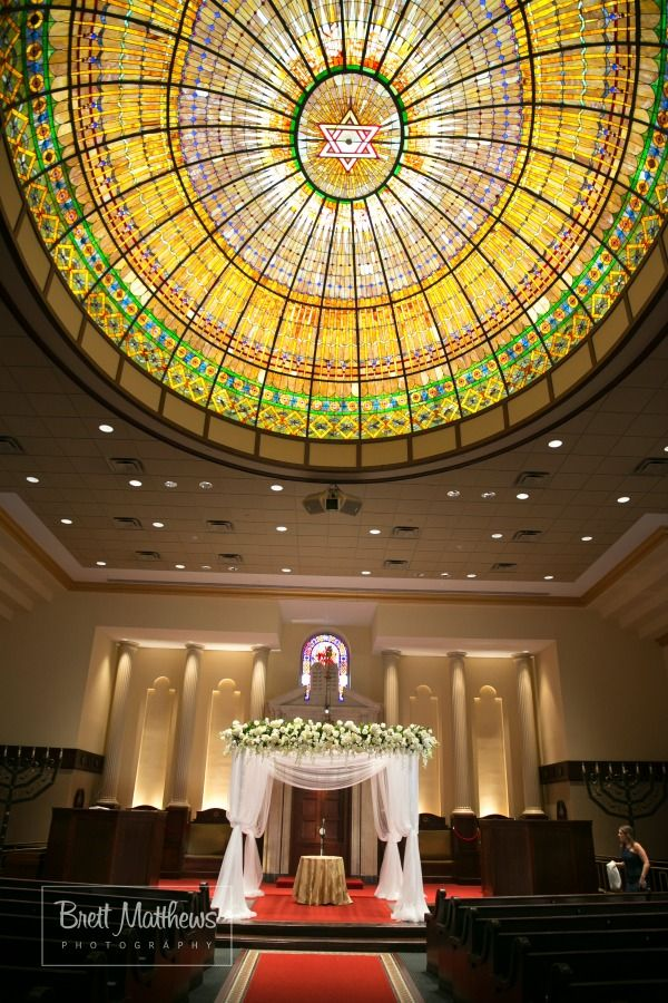 beach wedding in new jersey%0A Jewish Wedding  NJ Synagogue Sanctuary  Brett Matthews Photography   Northern Valley Affairs at Temple