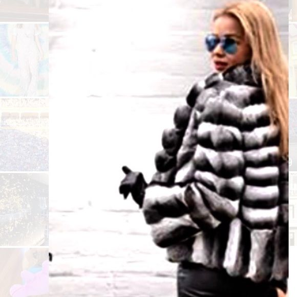 Exclusive Real Chinchilla Fur Jacket, How Much Is A Real Chinchilla Fur Coat