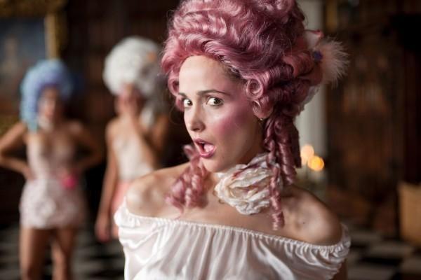Baroque Get Him The Greek Rose Byrne Victorian Wig Rose Byrne Women Humor Women In History