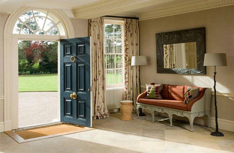 house entrance interior design. Mark Gillette Interior Design  Family home Home Colors