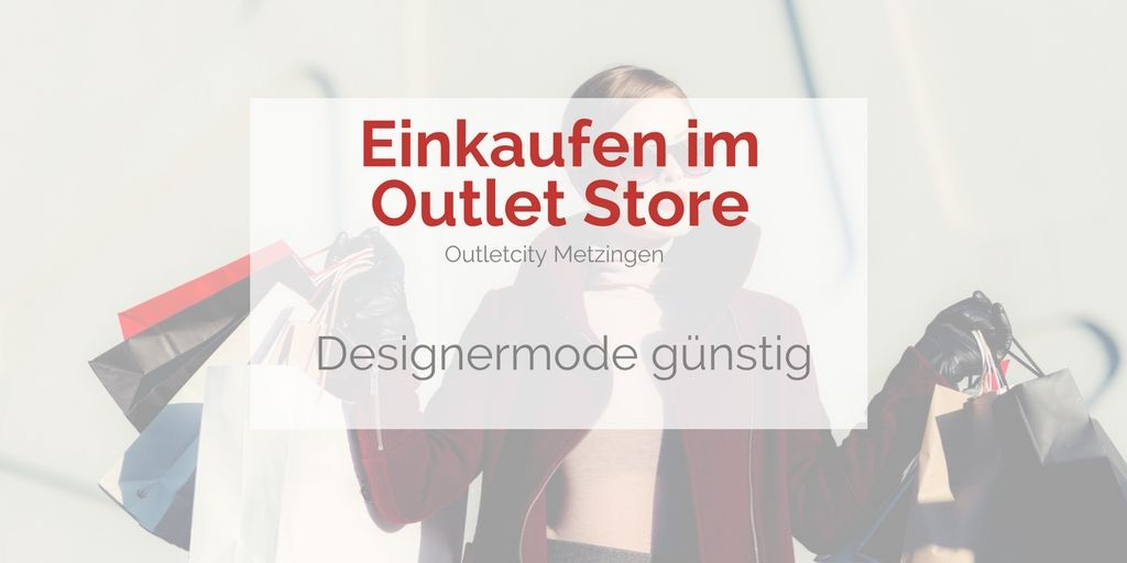 the best attitude fd09e 86e7d Gutschein coupon für Outletcity Metzingen - mit City30 noch ...