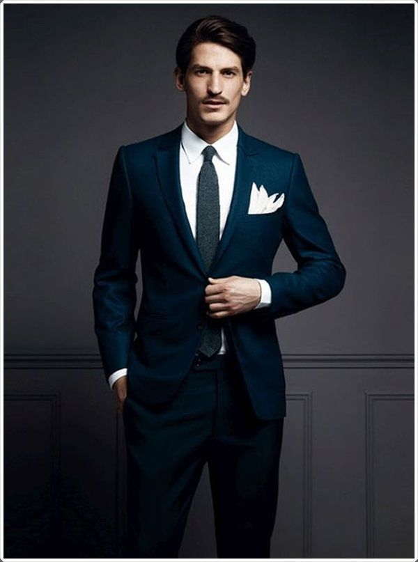 100 Best Blue Men's Suits Combinations to Look More Gorgeous ...