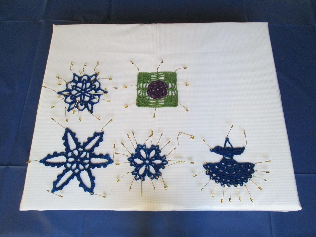 How To Make A Mini Blocking Board Crochet Blocking Board Crochet Basics Crochet Stitches Patterns