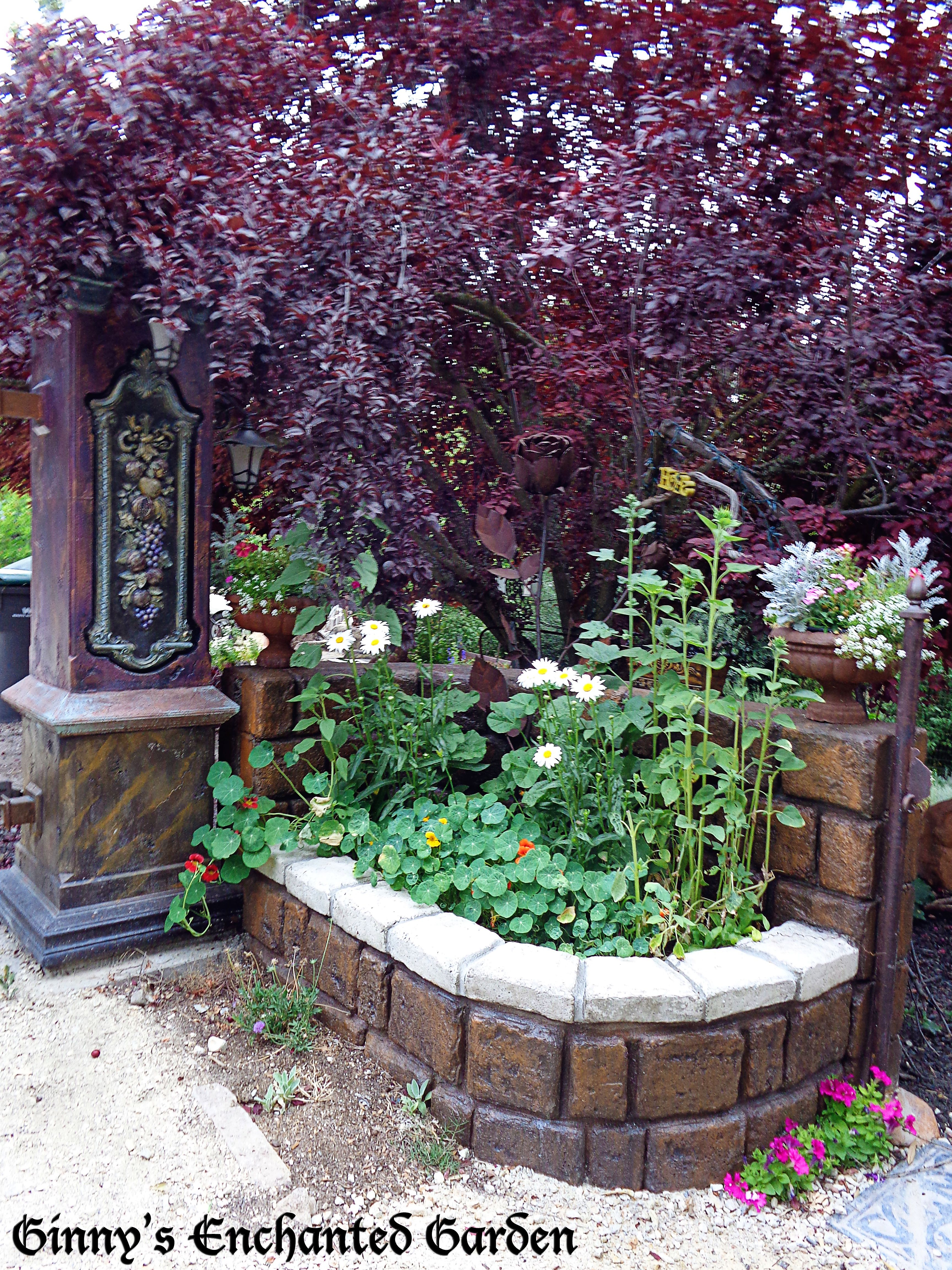 At The Entrance To The Enchanted Garden I Have Created