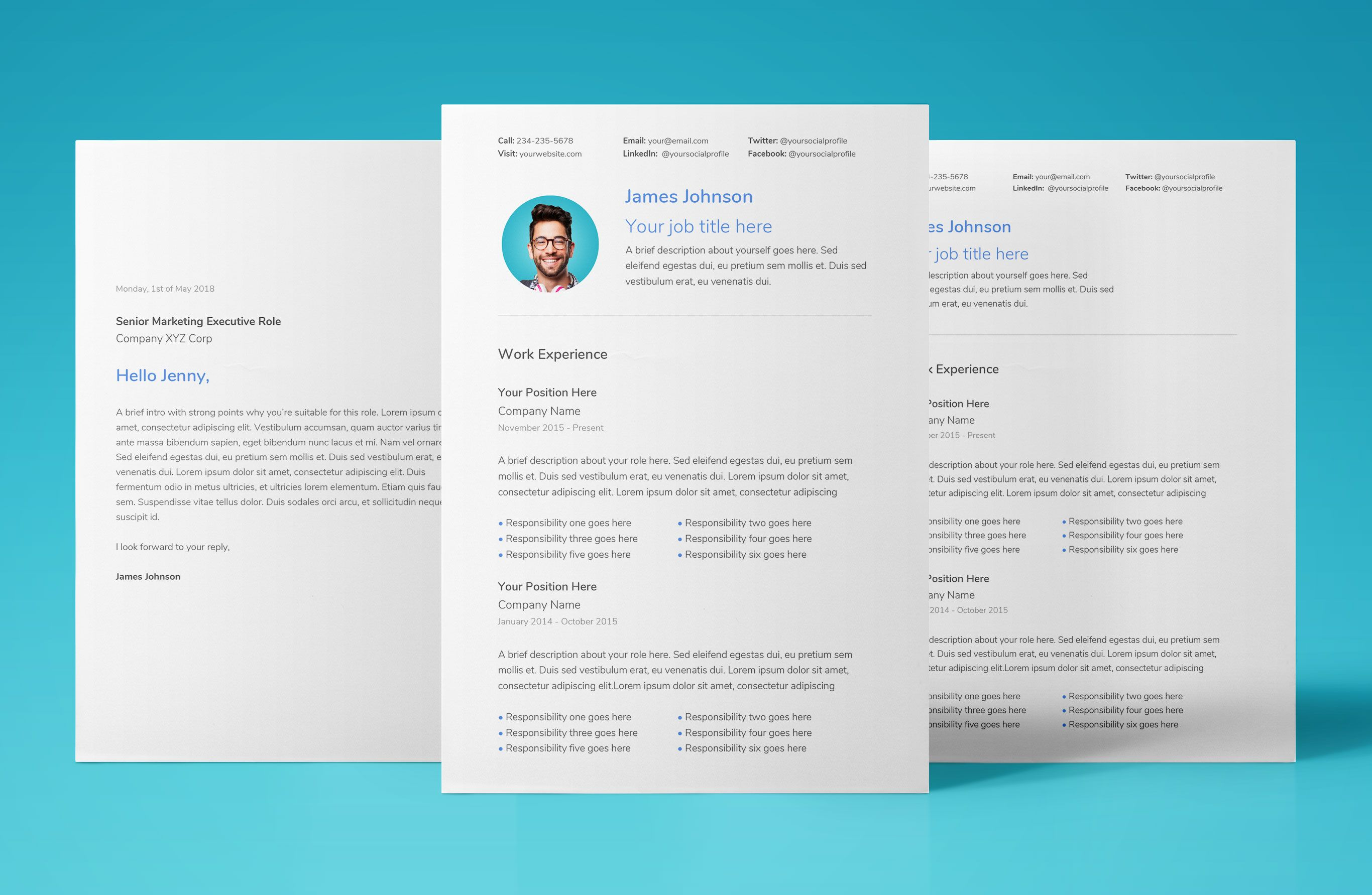 Free Resume Template Download For Google Docs Professional Modern