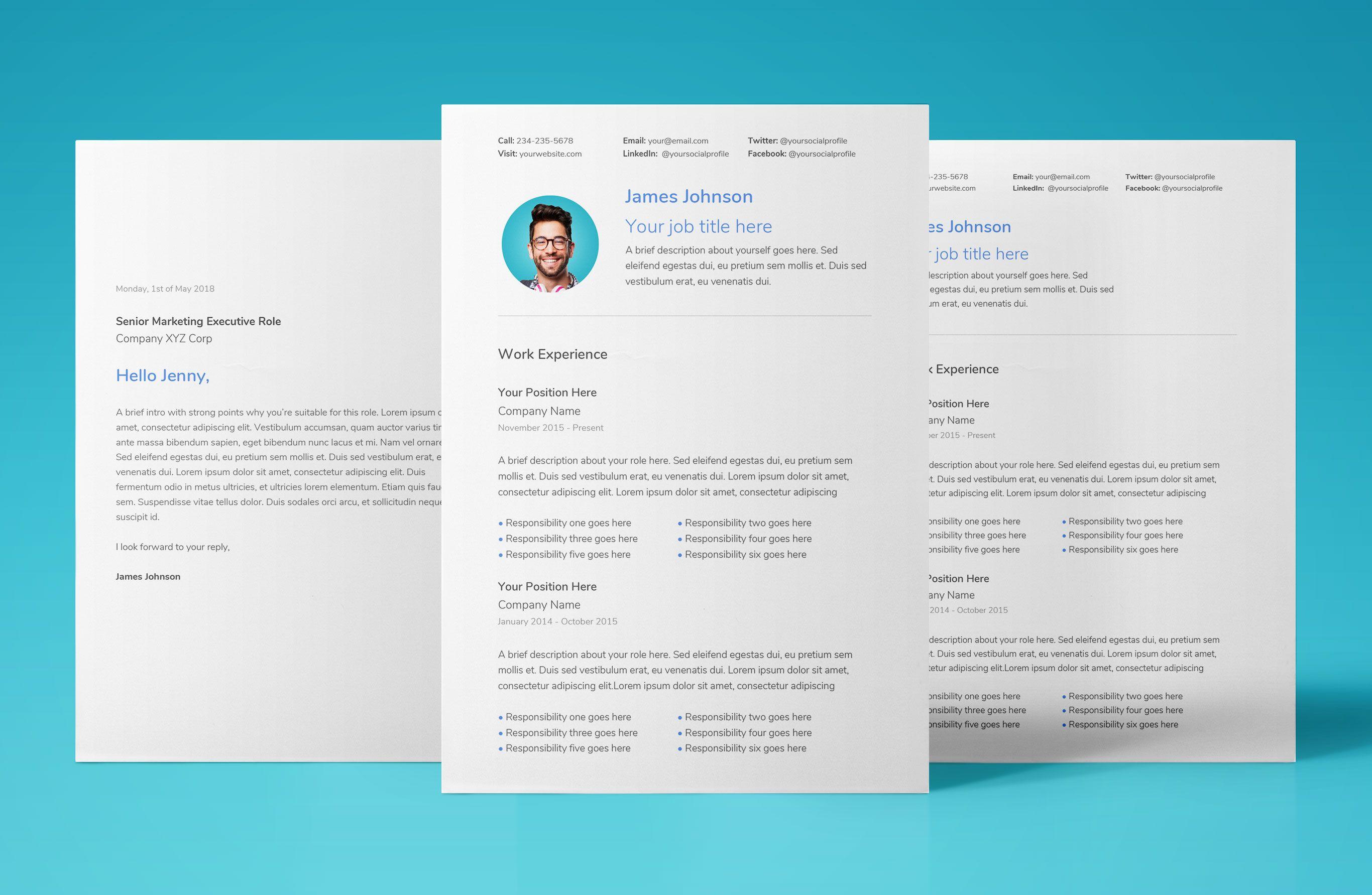Free Resume Template Download For Google Docs Professional Modern Cv Resume Temp Downloadable Resume Template Resume Template Free Resume Template Download