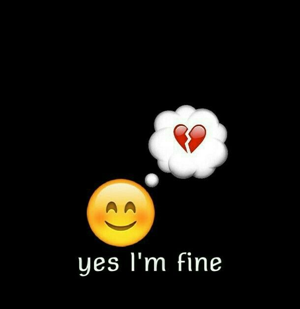 Pin On One Word One Liner Cool aesthetics sad emoji wallpaper for
