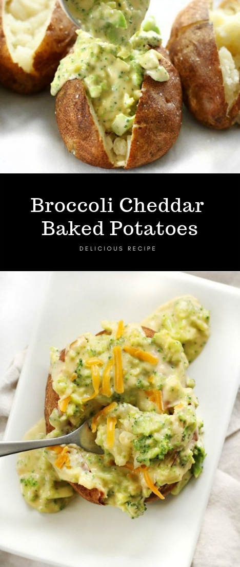Broccoli Cheddar Baked Potatoes images