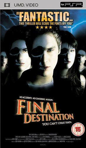 Final Destination [UMD Mini for PSP] This is an awesome movie one of the first I bought when I bought my cinema system I love the surround sound on this movie it's awesome 5*****