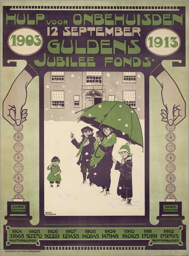 Voor Hulp Voor Onbehuisden 1913