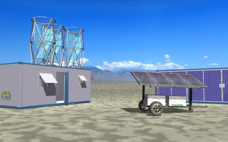 Wind And Pv Micro Utilities 2008 Environmental Design Energy Projects Solar