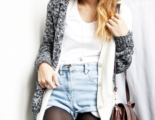 Casual layers.