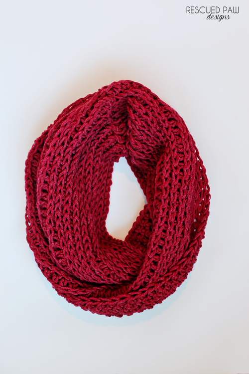 Chunky Cozy Crochet Cowl | Dos agujas, Damas y Accesorios