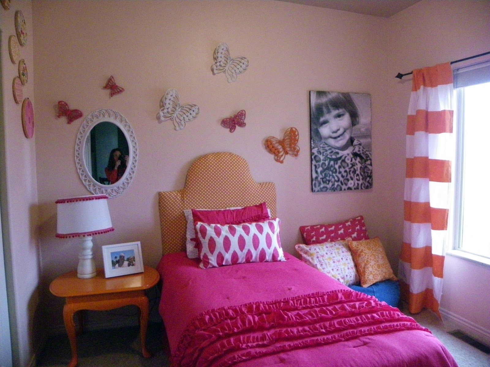 Orange And Pink Rooms Love My Daughter Mary S Room