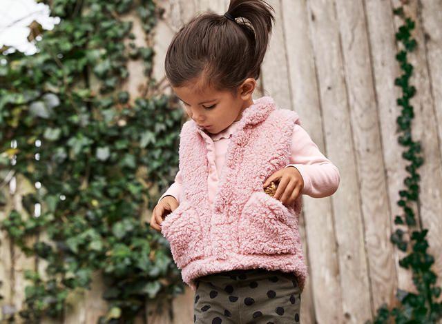 Toddler Fluffy Yarn Fleece Vest Uniqlo Us A Warm And Cute Boa