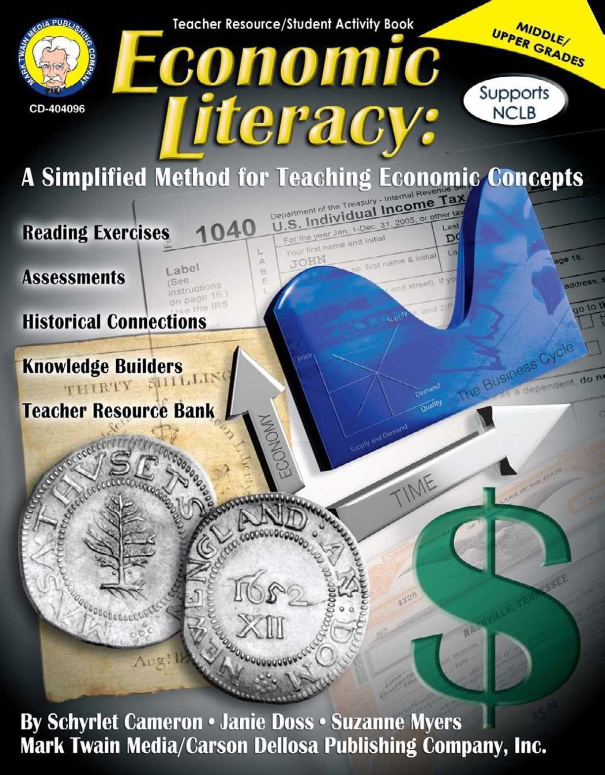 Economics Literacy Carson Dellosa Publishing