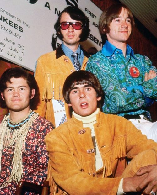 the monkees at a press conference in england june 1967 wish i only loved one in 2019. Black Bedroom Furniture Sets. Home Design Ideas