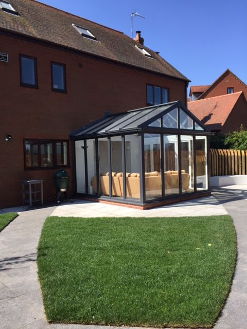 Best Conservatories Aluminum Roof Conservatory 400 x 300