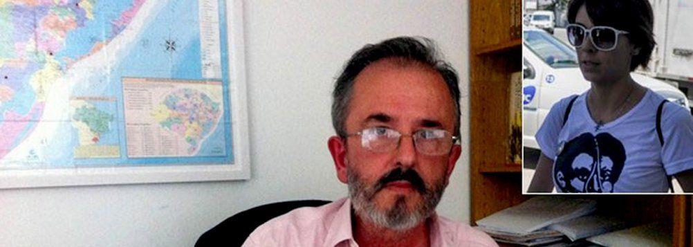 O pai da ativista Elisa Quadros Pinto Sanzi, conhecida como Sininho, Antonio Sanzi saiu em defesa da filha neste sábado, 12, em Porto Alegre, e acusou o estado brasileiro de estar perseguindo politicamente centenas de manifestantes