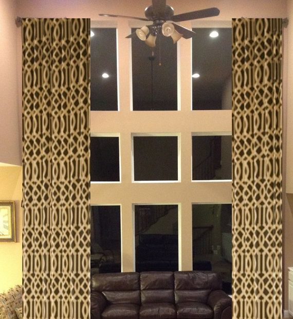 2 Story Extra Long Drapes 204 Inches Custom By Draperyloft 55000