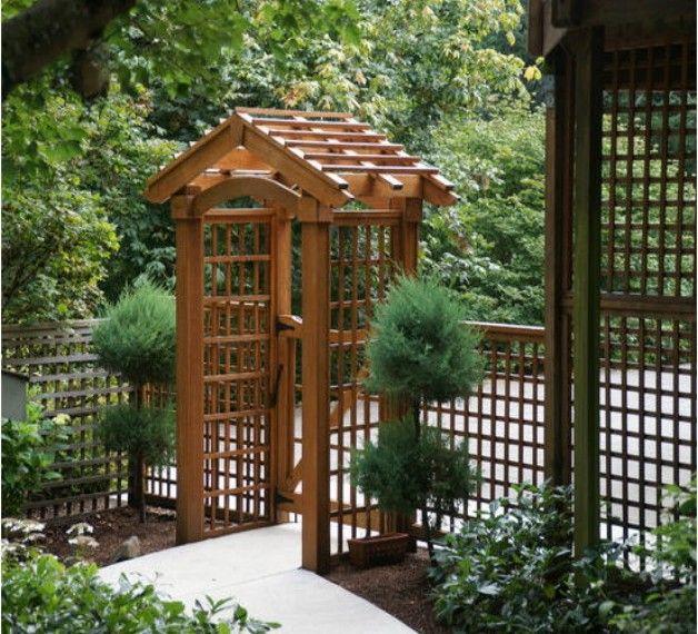 Merveilleux Entrance Arbor Ideas