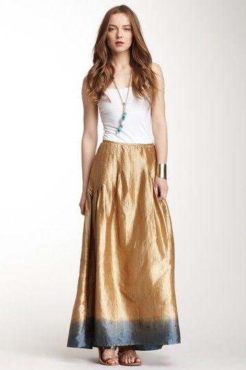 Calypso St. Barth Ombre Silk Skirt on HauteLook