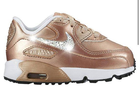 Nike Air Max 90 2007 (2c 10c) InfantToddler Girls' Shoe