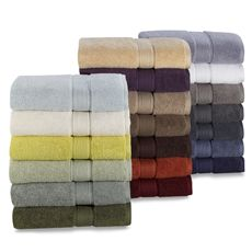 Kenneth Cole Reaction Home Collection Towels 100 Zero Twist