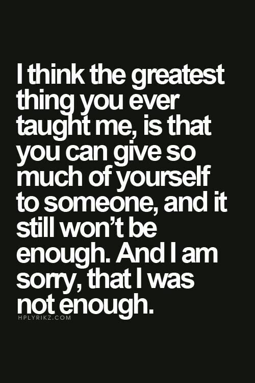 Dont Say You Are Not Good Enough You Are Good Enough You Are Worth