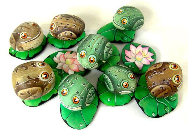 tutorial para pintar piedras de rio google search