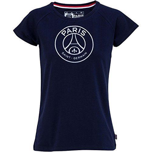 a5d7a37dd96 T-shirt PSG – Collection officielle Paris Saint Germain – Taille adulte  femme  Collection