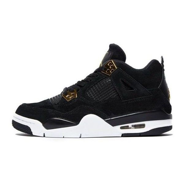free shipping 78559 fb064 Jordan Air Retro 4  Royalty  Junior   JD Sports (1 555 ZAR) ❤ liked on  Polyvore featuring jordan 4
