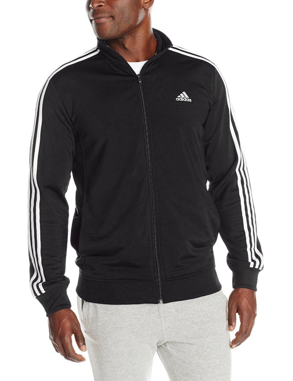 adidas men's essential tricot jacket