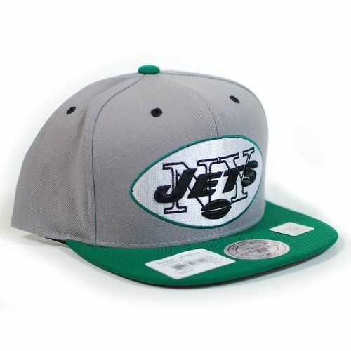 ... canada new york jets mitchell ness grey arch undervisor velcro snapback  hat mitchell ness. 4e704 1846c11d4