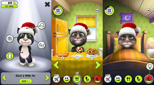 talking tom mod apk new version