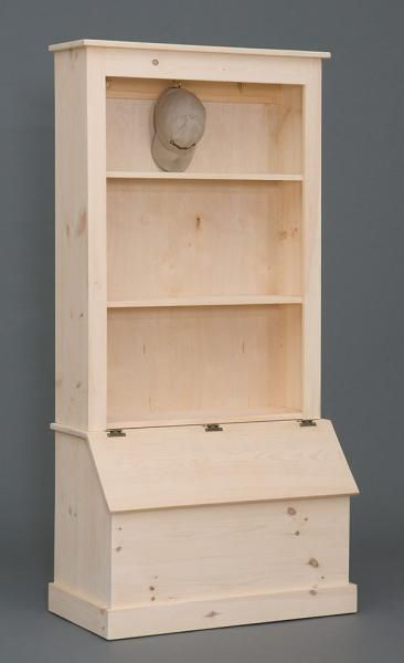 Bookshelf And Toybox I Would Use The Toy Box For Shoes Diy Furniture Diy Wood Projects Wood Projects
