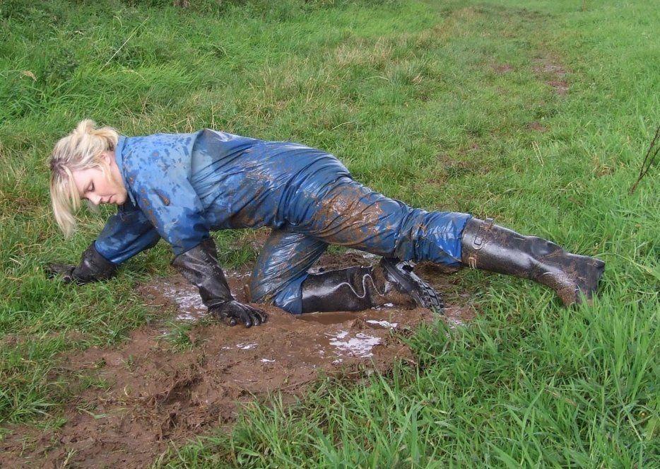Pin On Rainwear In Mud