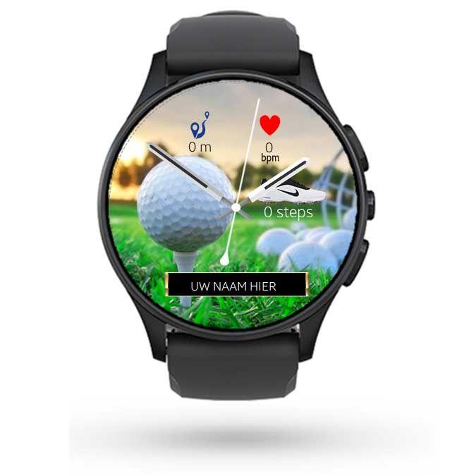 Golf Watch Face Samsung Gear | Watch Faces met Uw naam - bedrijfsnaam