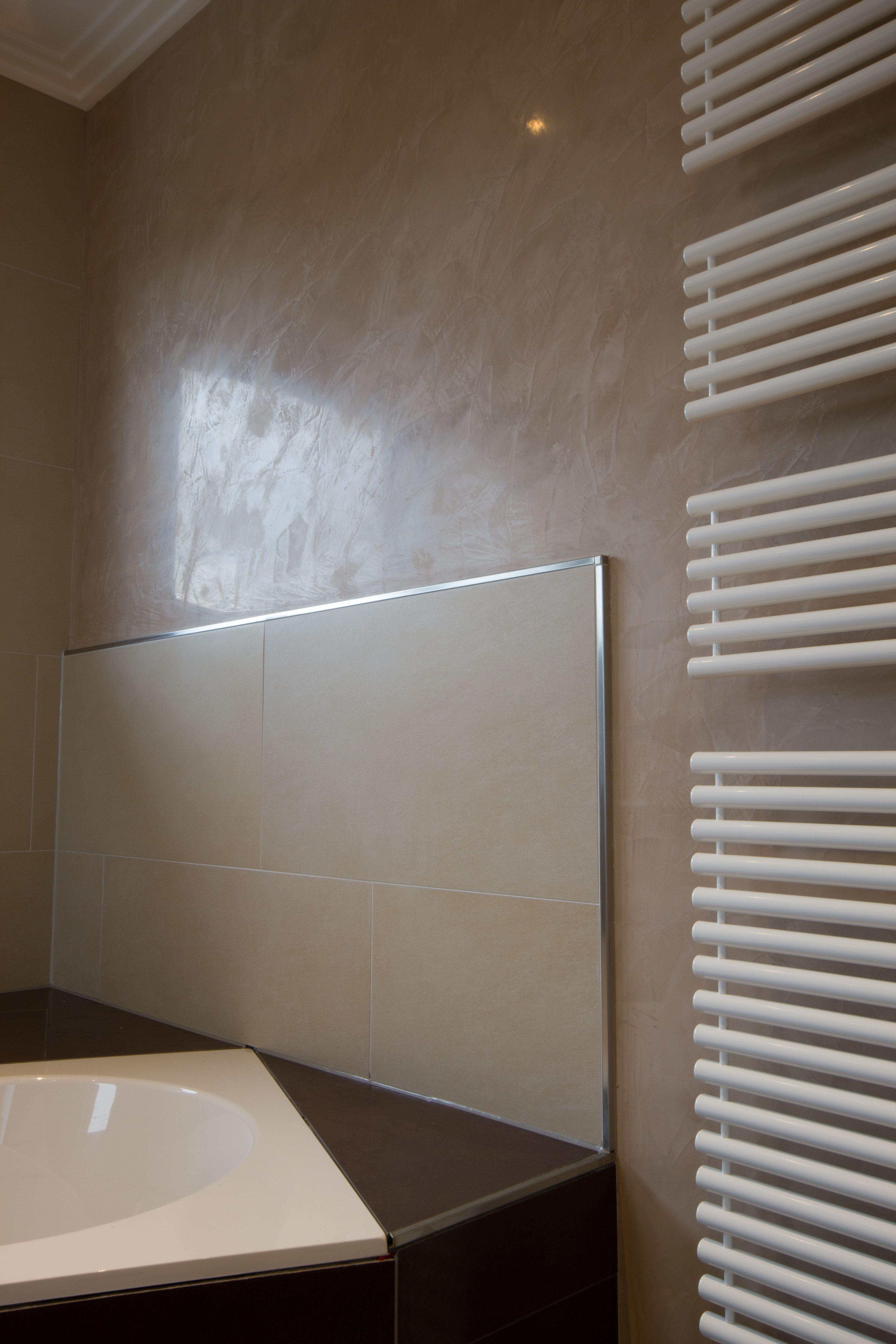 Mineralputz Badezimmer Wasserdichter Putz Dusche Fugenlose Design Boden