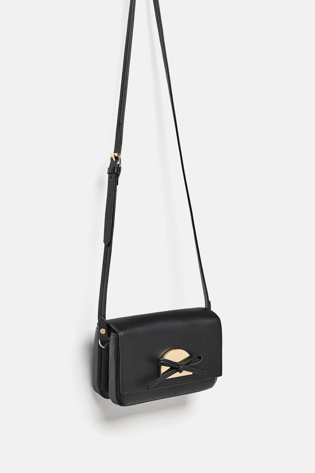 6d2dddfc31 Image 3 of MINI CROSSBODY BAG WITH TIE from Zara