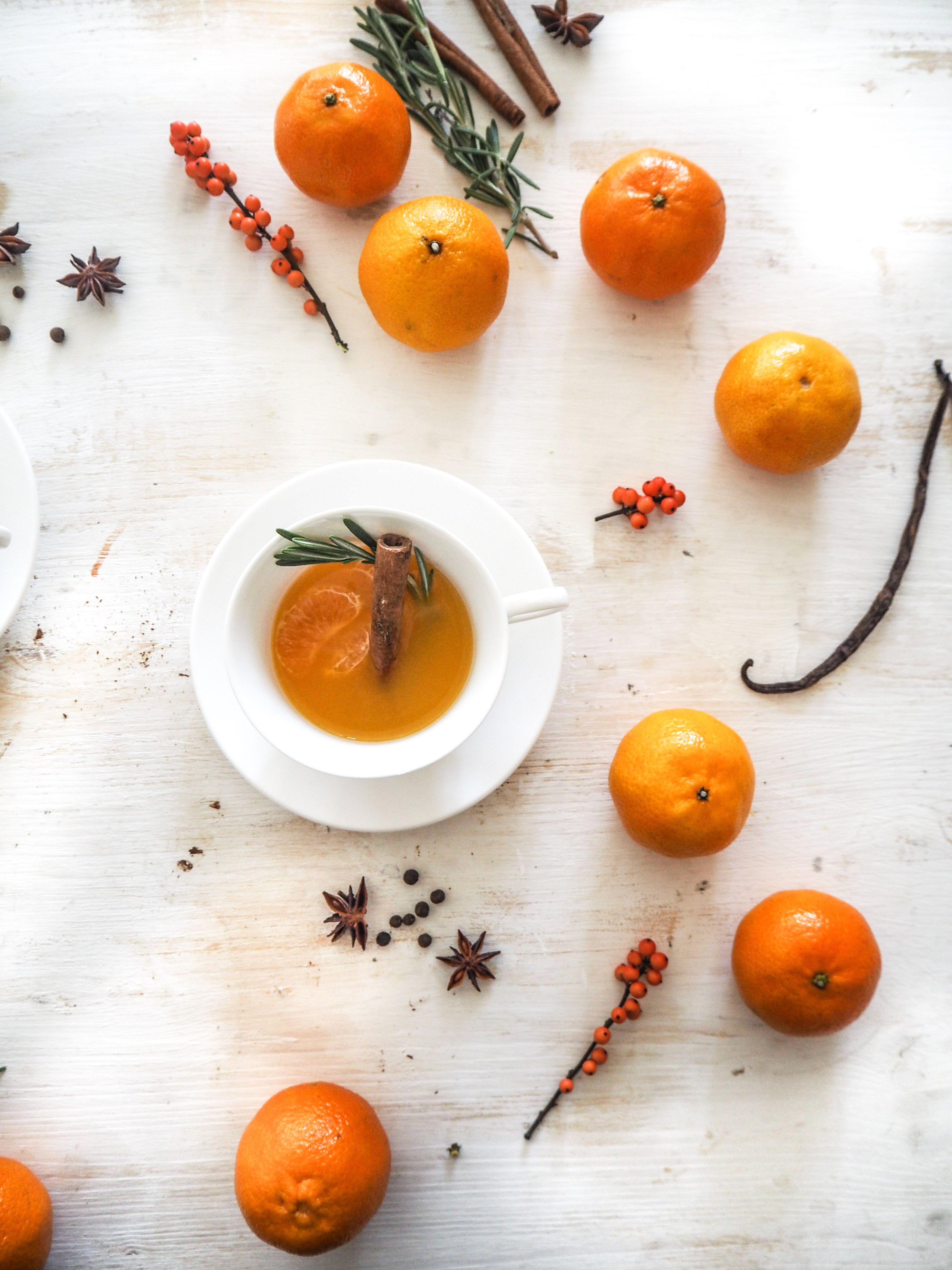 Mandarinen Punsch I Nummer Fünfzehn