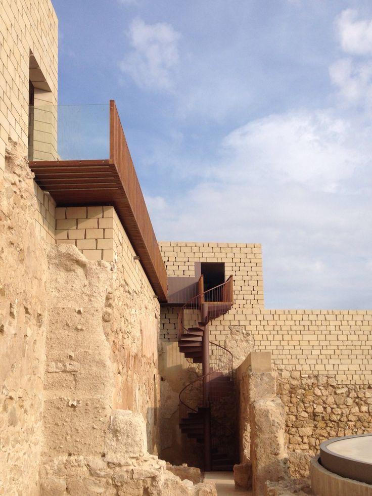 Rehabilitaci n del castillo de baena c rdoba jos - Arquitectos en cordoba ...