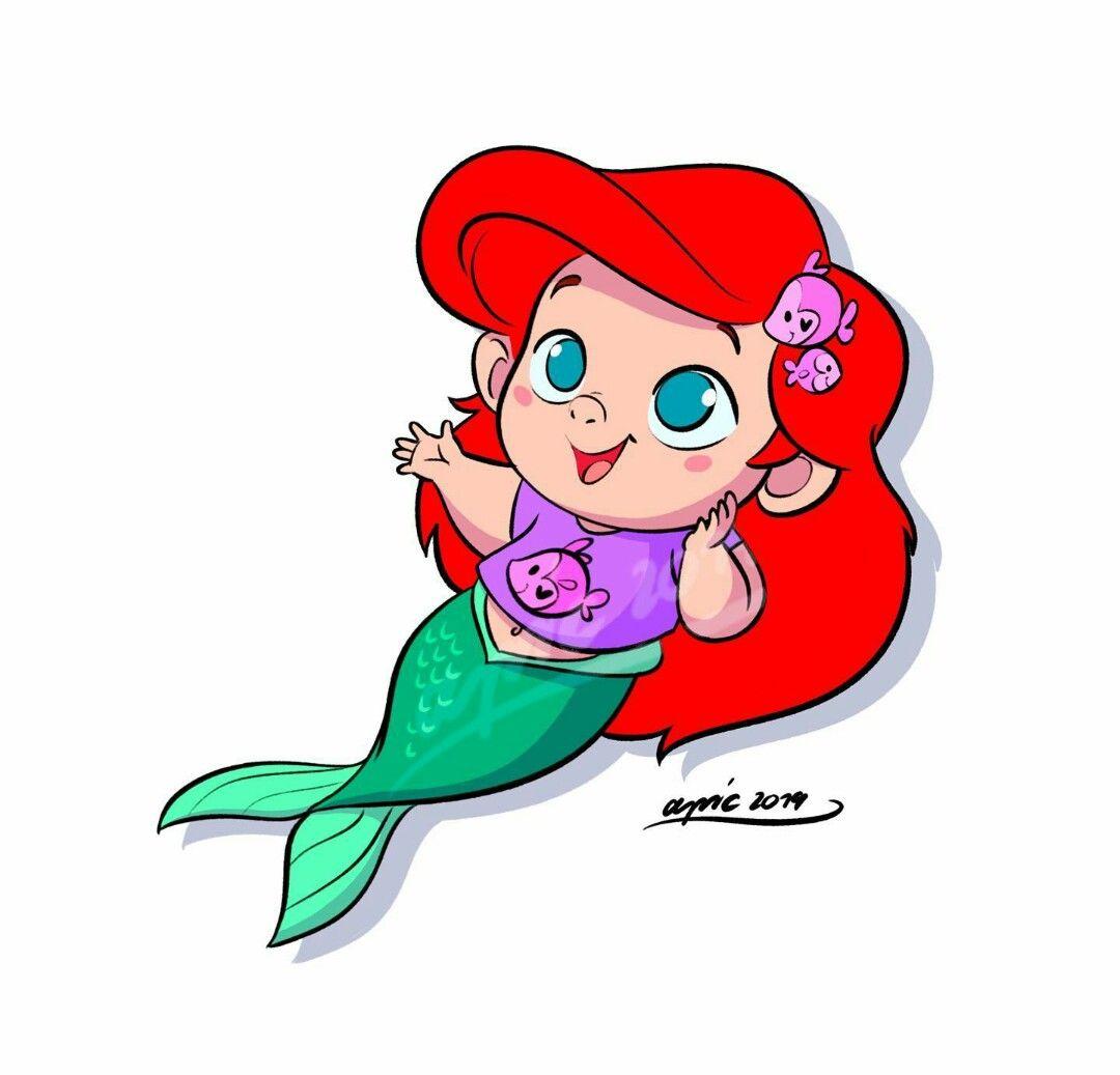 Pin En The Little Mermaid