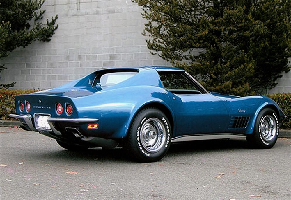 1972 Bryar Blue Corvette In 2020 Corvette Zr1 Chevrolet