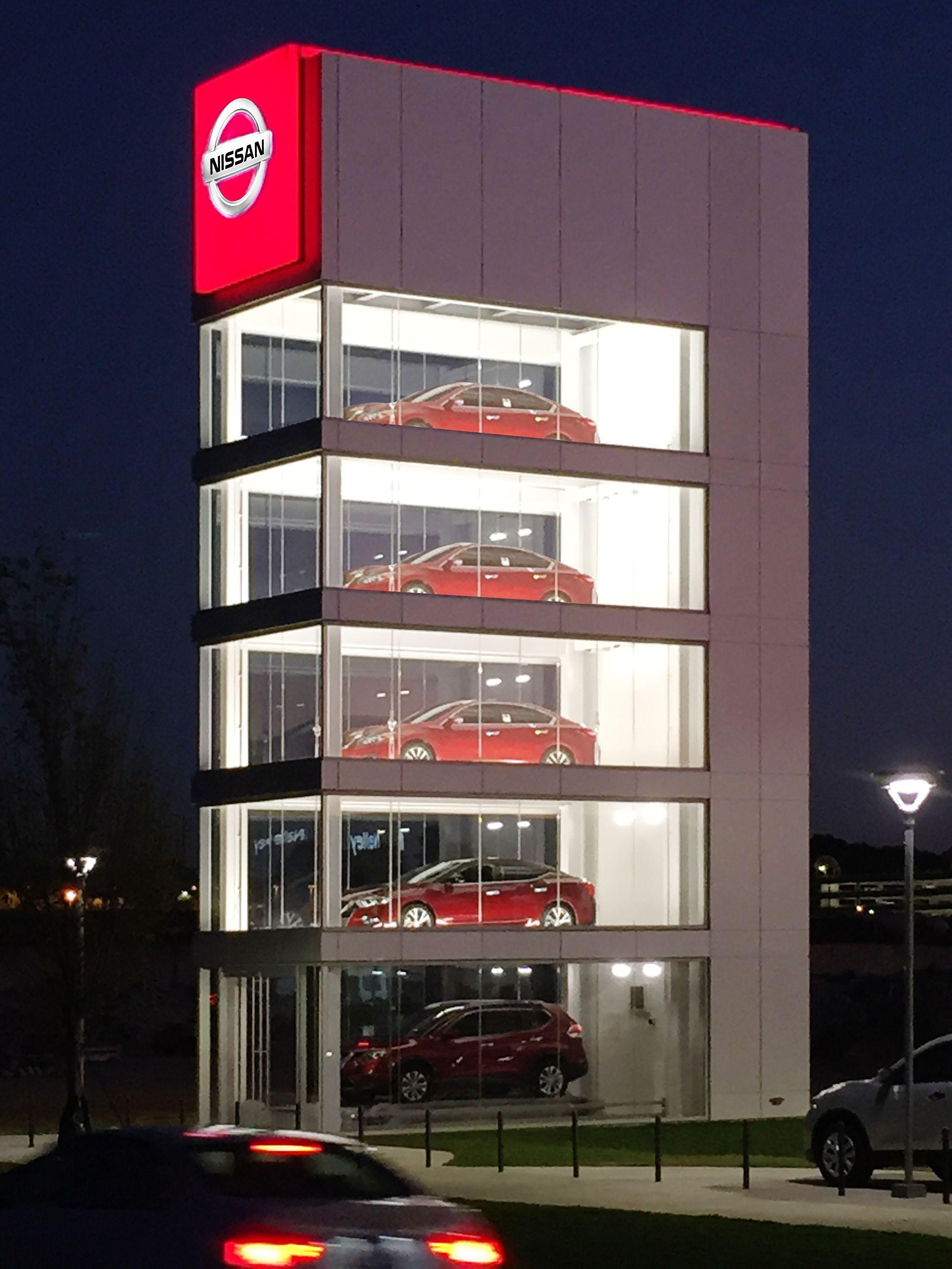 Nissan Display Atlanta GA Building, Display, Nissan