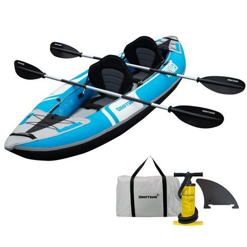 Driftsun Voyager 2 Person Inflatable Kayak White Water Kayak