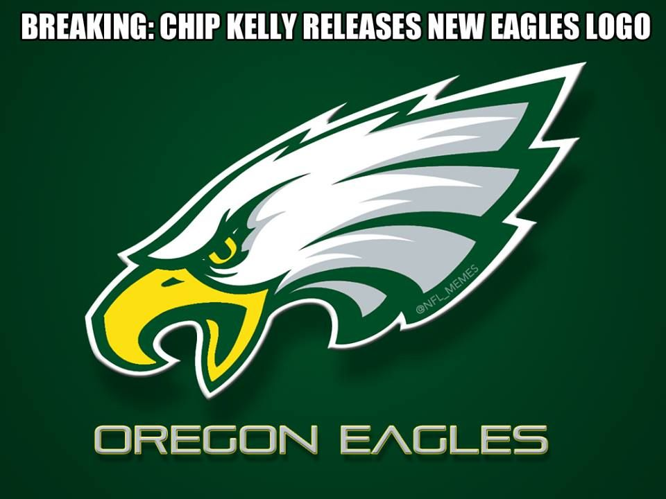 REPORT: Eagles release new logo. | Patriots Nation (Sports ...