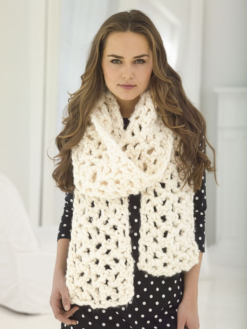 V-Stitch Scarf (Crochet) | Crochet | Pinterest | Croché, Tejidos and ...