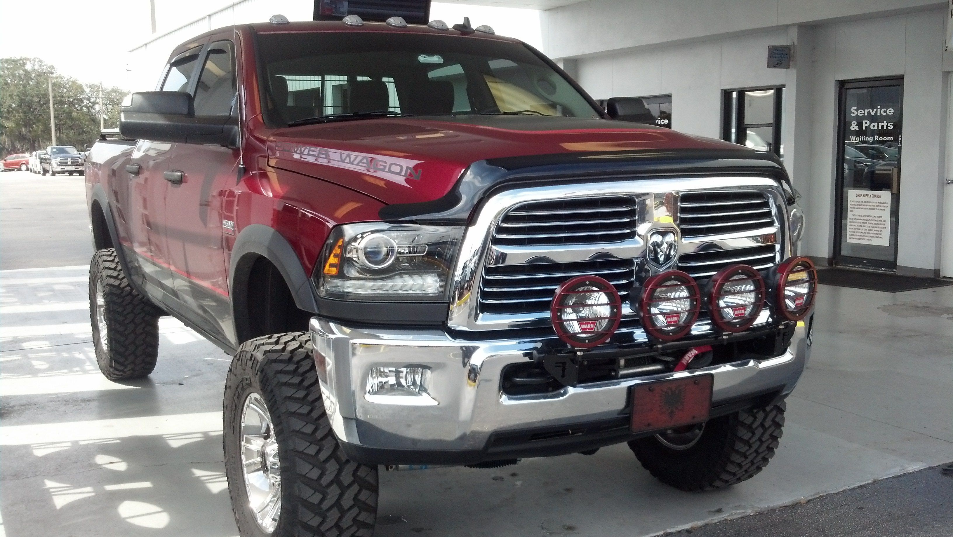 awesome dodge ram power wagon sold at ferman chrysler jeep dodge of new port richey. Black Bedroom Furniture Sets. Home Design Ideas