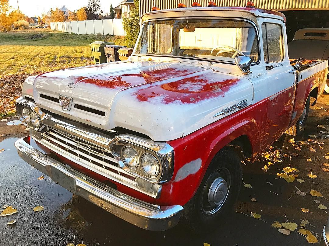 swensons_early_fords For sale my 1960 Ford F-100 Custom Cab short ...